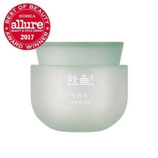 HANYUL Pure Artemesia Water Calming Cream 50mL 韓律艾草舒緩水潤排毒水份面霜