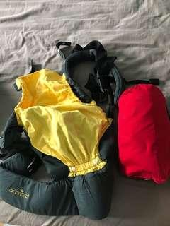 Bundle of baby carrier