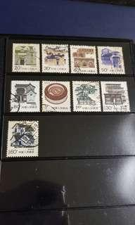 🚚 China old stamps