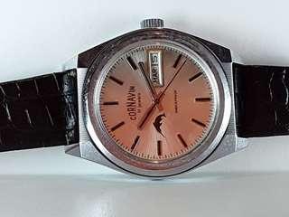 CORNAVIN 瑞士日內瓦手錶品牌, 過百年歷史, 手上鏈, 行走精神, 約39mm