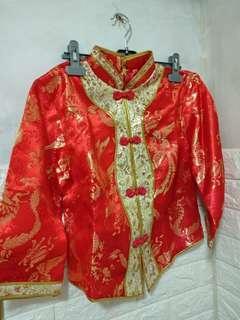 結婚禮服 中式  裙掛  中碼