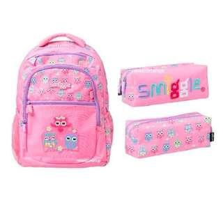 Smiggle Backpack Dejavu Sets