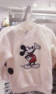 NEW! Baby H&M Mickey Mouse Sweater