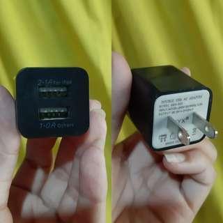 Black Dual Adaptor