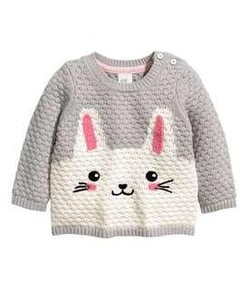 NEW Original H&M Bunny Knitted Sweater