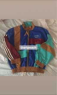 RETRO UZZLANG MULTICOLOURED WINDBREAKER