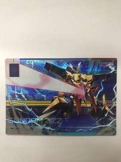 Gundam duel company rare card carddass Star Wars pokemon lego