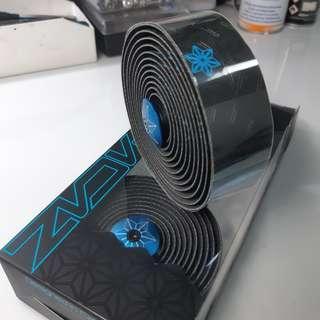 Supacaz bar tape neon blue galaxy