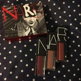 NARS 限量 Limited Edition Underground Velvet Lip Glide Coffret Set 絲絨柔滑唇釉組合 唇膏 唇釉 (3.4ml x3)