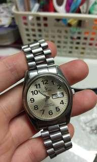 🚚 121 quartz LUGANO watch 10BAR 石英錶