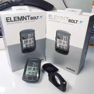 🚚 Wahoo elemnt bolt unit