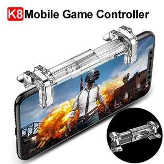 K8- Hot popular mobile trigger for Pubg, Fortnite, Rules of Survival, Survivor Royale, Knives Out, Critical Ops and other FPS game