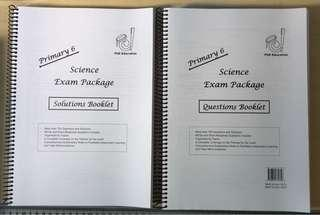 PhD Education Primary 6 Science Exam Package