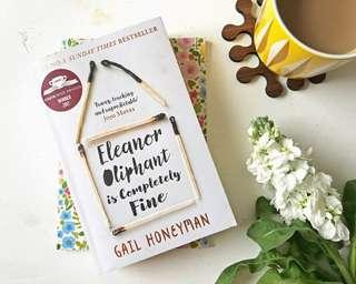 Eleanor Oliphant is completely fine - best selling fiction novel book