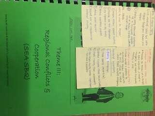 A level SEA History notes