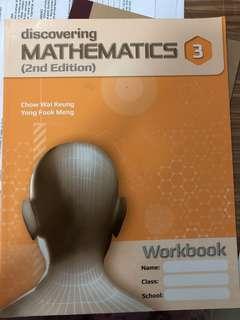 🚚 Sec 3 Mathematics Worbook