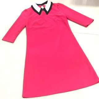 🚚 Joop Pink Shift Dress Size S