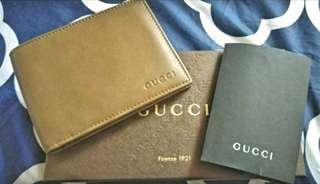 Jual New Gucci 6 cards bifold Wallet