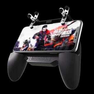 SR- all in one gamepad mobile trigger controller with cooler fan and battery-2000mAh for PUBG, Fortnite, Rules of Survival, Survivor Royale, Knives Out, Critical Ops and other FPS game