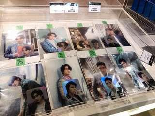 Super junior one more time hologram card set