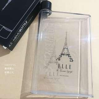 🚚 ELLE A5 MENOBOTTLE 筆記本水瓶