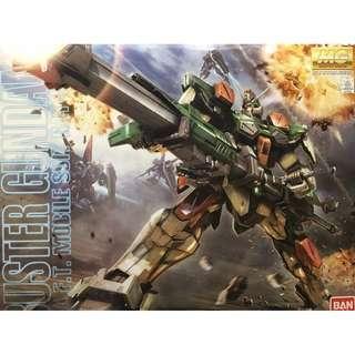 Bandai MG 1/100 GAT-X103 Buster Gundam Seed 暴風 高達模型 只開盒 未拆袋 全新 送油X3