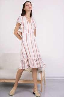🚚 [The Tinsel Rack] Laura Wrap Front Dress