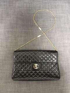 Pascale Crochon Authentic Shoulder bag Real handbag 黑色手袋