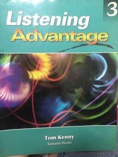 🚚 Listening Advantage #我要賣課本
