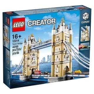 全新未開封 Lego 10214 London Tower Bridge