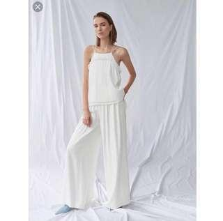 🚚 BNWT BNIB Collate the Label Pleated Tier Cami Top