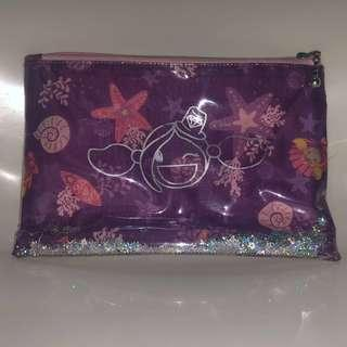 Surfer Girl purple pouch