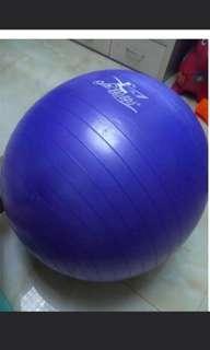 Purple yoga ball ,