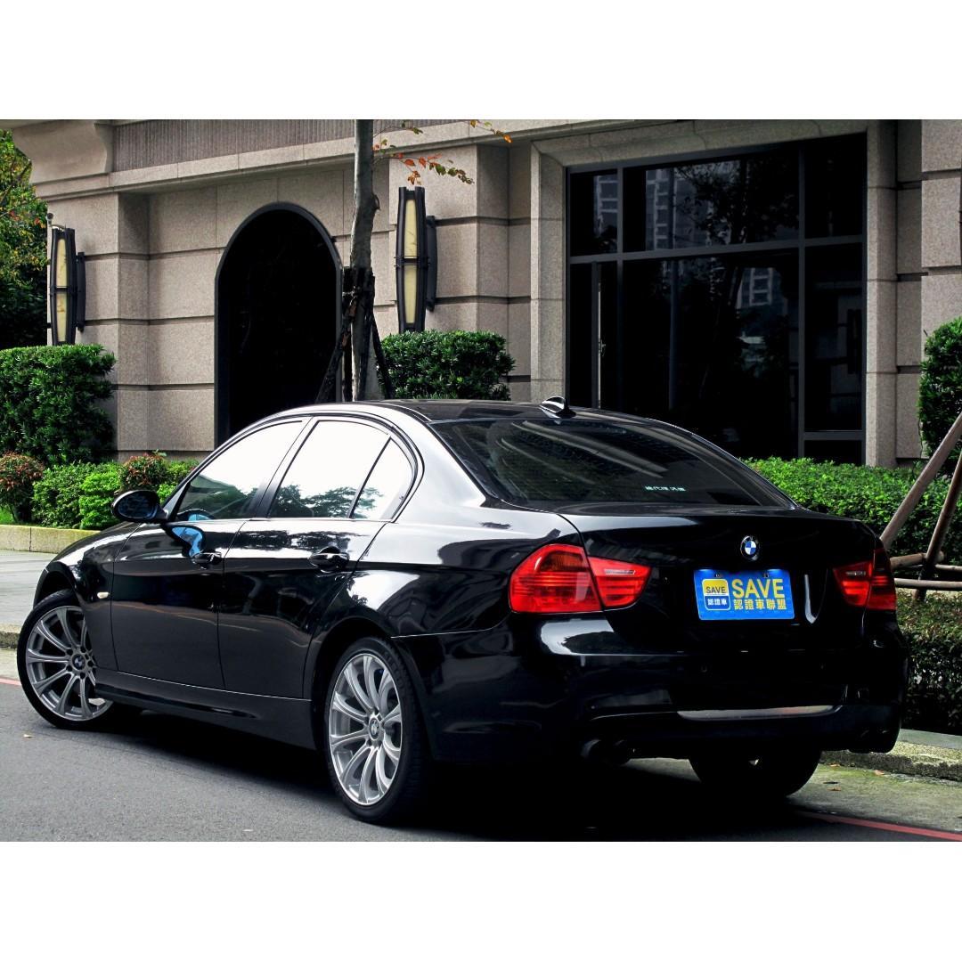 稀有320D柴油 總代理 BMW熱銷車 M空力套件 M鋁圈 四出尾管 光感HID大燈 倒車顯影 安全氣囊