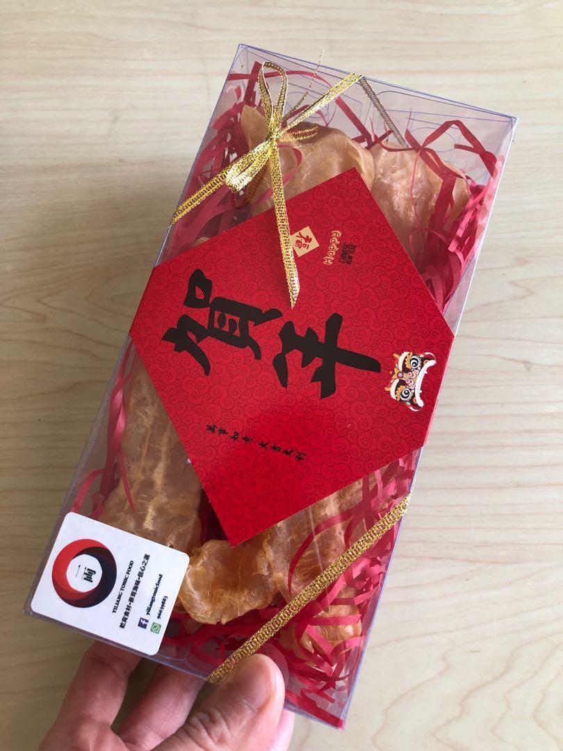 乾貨「一両」蔘茸海味專門店 🧧賀年禮品🧧🎁送禮一流🎁中小型💥鴨巴魚肚筒(黃花膠筒)