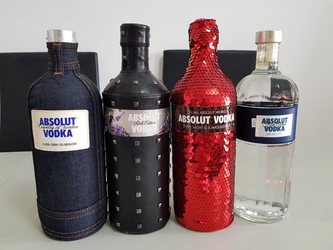 Spiksplinternieuw Absolut Vodka (Limited edition), Food & Drinks, Beverages on Carousell ZO-04