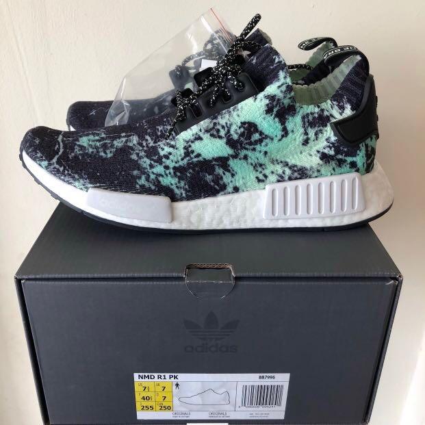 release date: 8d201 fcee8 Adidas NMD R1 PK Primeknit Marble, Men s Fashion, Footwear, Sneakers on  Carousell