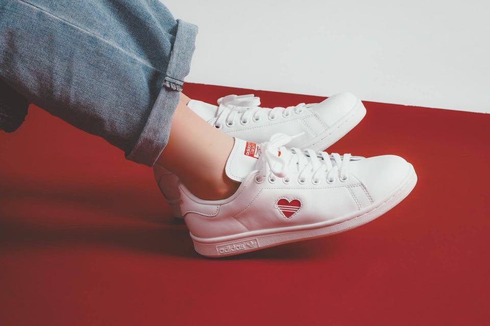low priced 21102 e5fc9 Adidas originals Stan Smith valentine collection 2019 ...