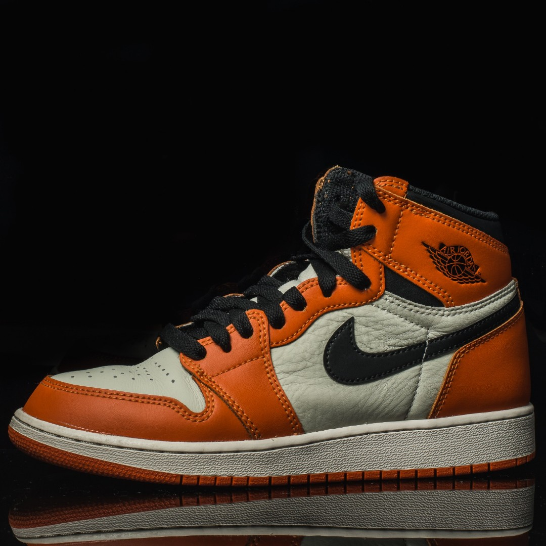 6e7770ea0f29 Air Jordan 1 Retro High OG Reverse Shattered Backboard US6
