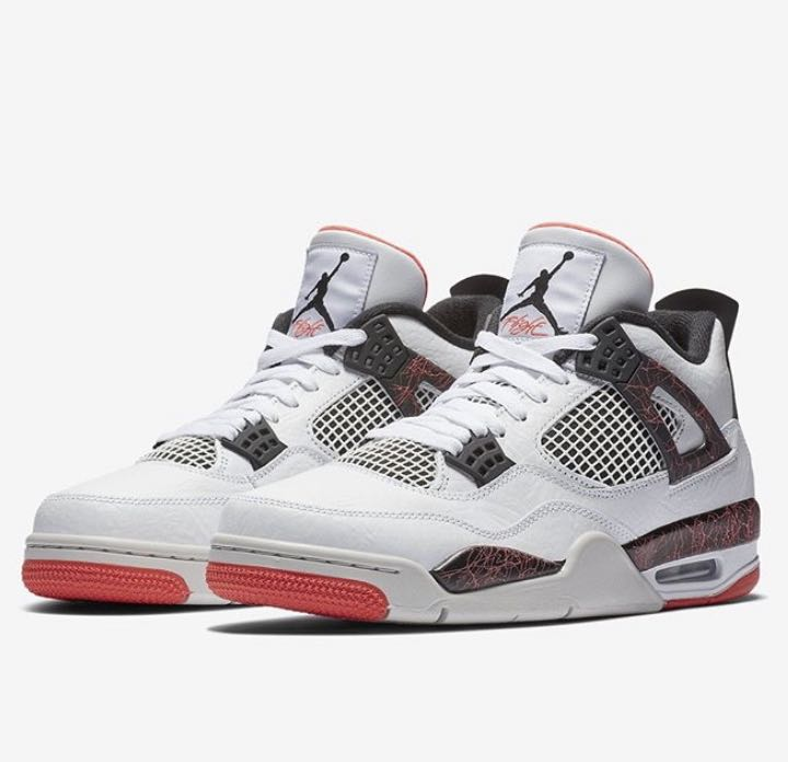 845b22fbd8a AIR JORDAN 4 RETRO 'BRIGHT CRIMSON' 2019, Men's Fashion, Footwear ...