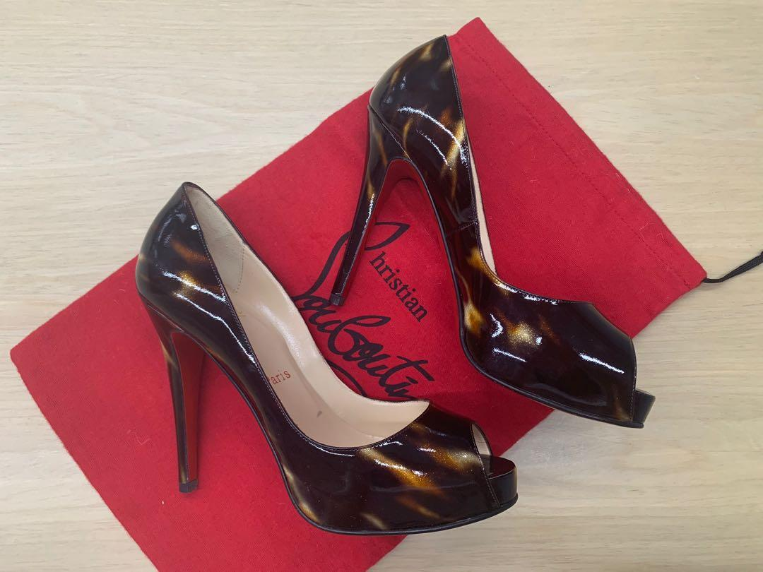 new product cd91a cccc2 AUTHENTIC Christian Louboutin Very Prive 120, Luxury, Shoes ...