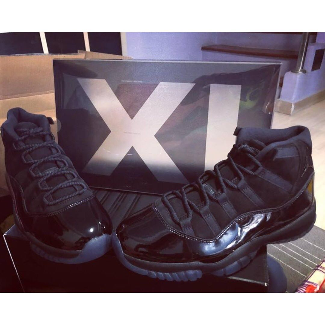 Authentic Nike Air Jordan 11 Cap to Gown e0c65aaf9