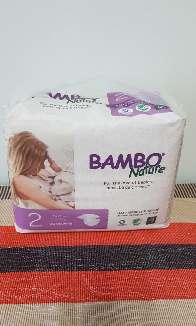 Bambo Nature Diaper Size 2