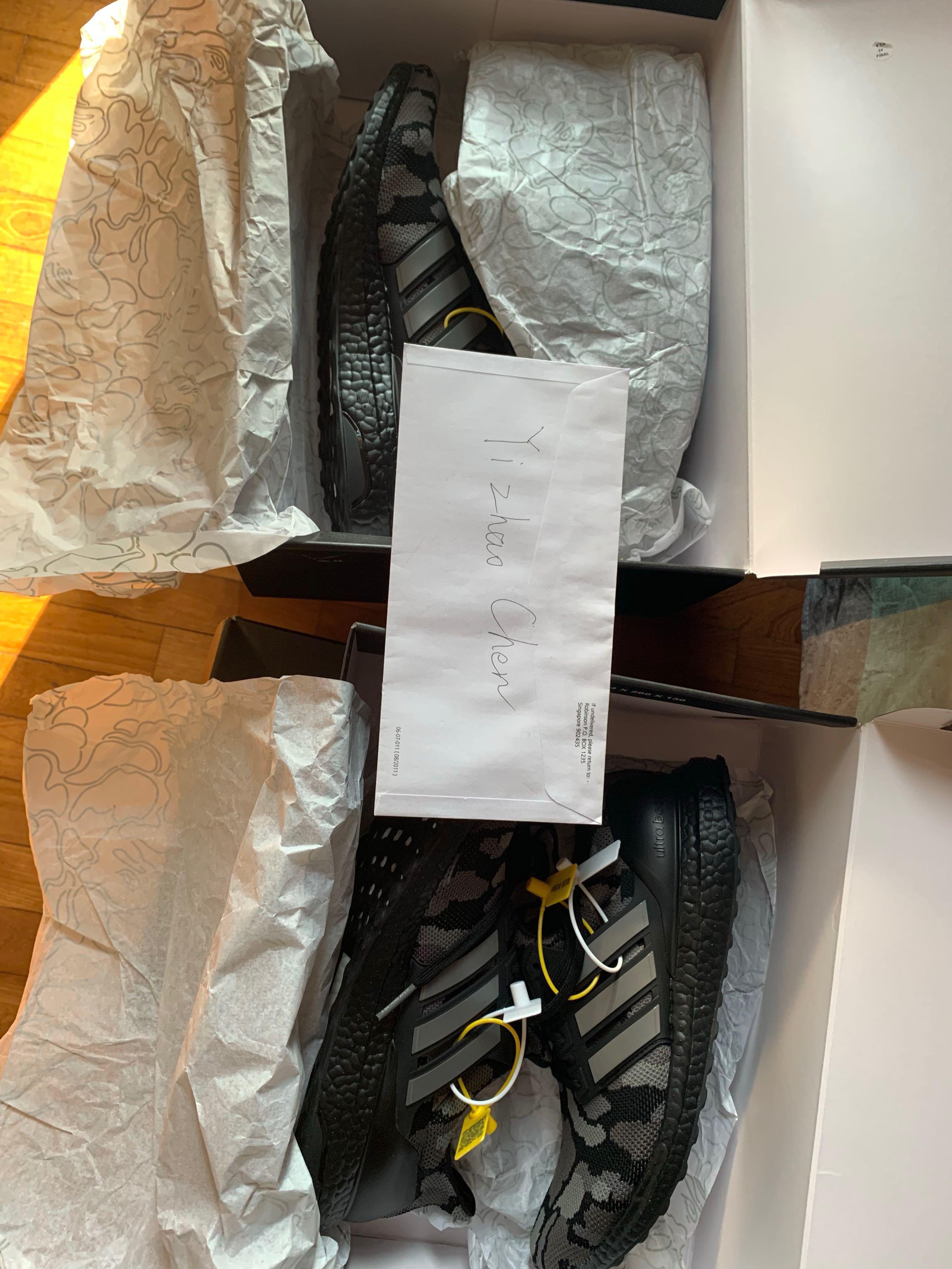on sale 0f30d e25ea Bape adidas ultra boost 4.0 black