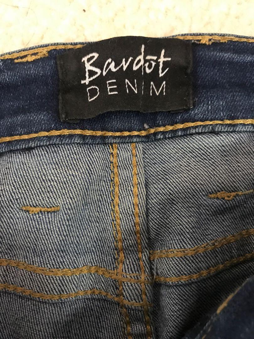 Bardot Denim Jeans High Wasted