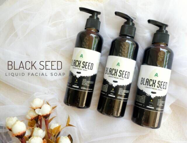 Black seed liquid facial foam