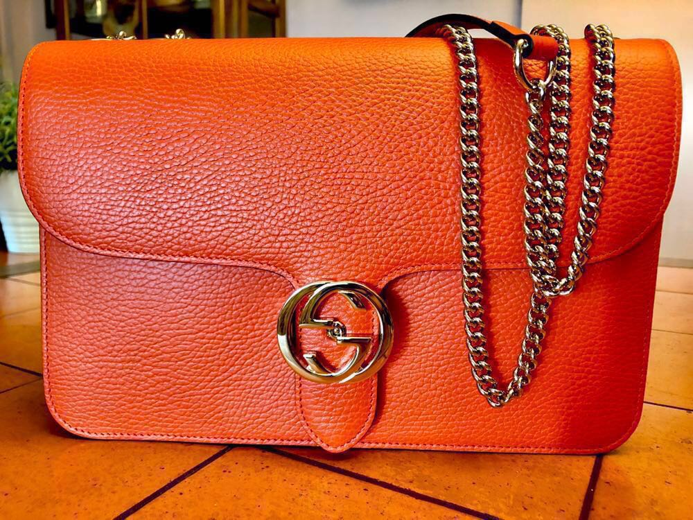 2773ceeed9e BN Gucci Shoulder bag with Interlocking G clasp (100% Authentic ...