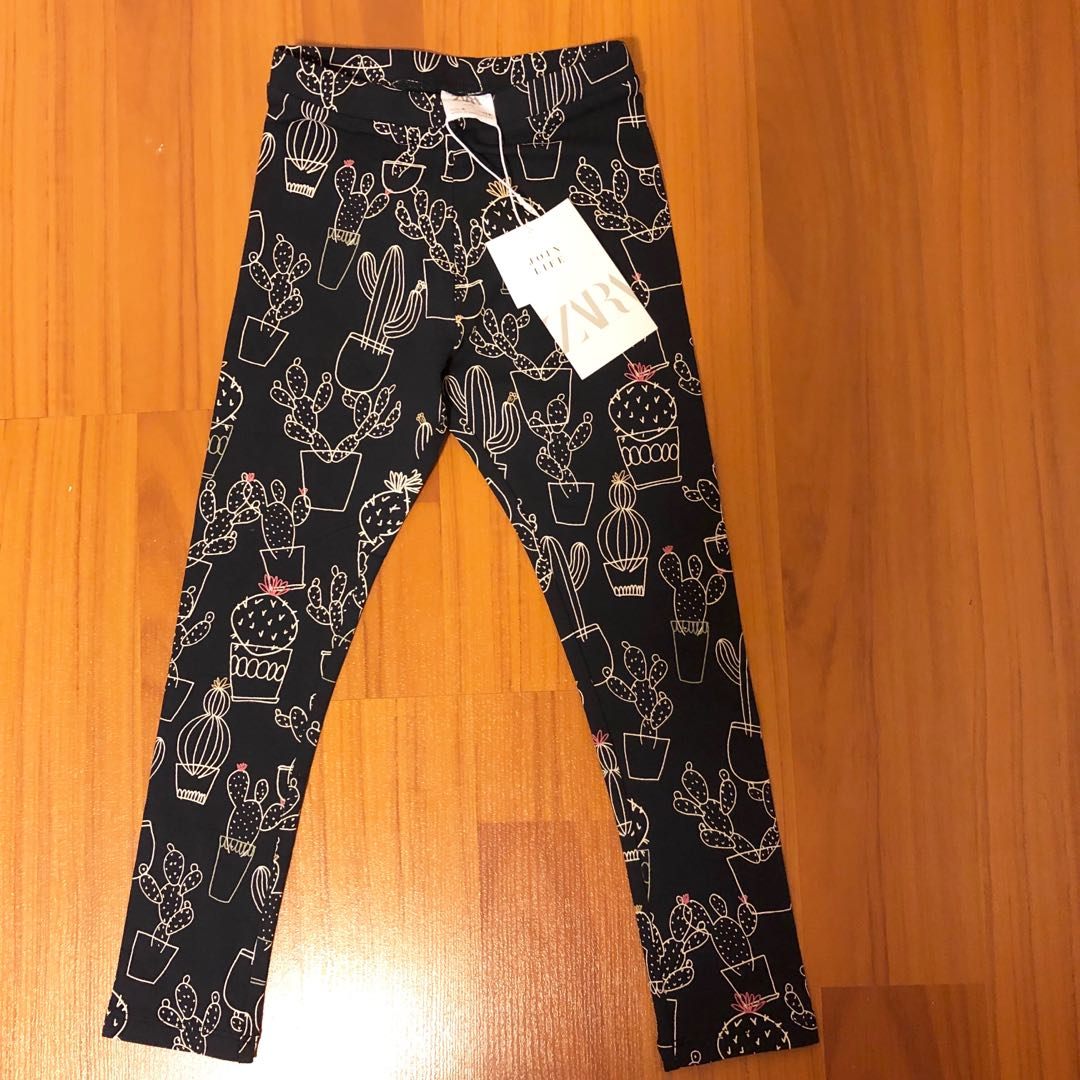 51107394e4 BNWT ZARA Girl's Leggings Pants, Babies & Kids, Girls' Apparel, 4 to ...
