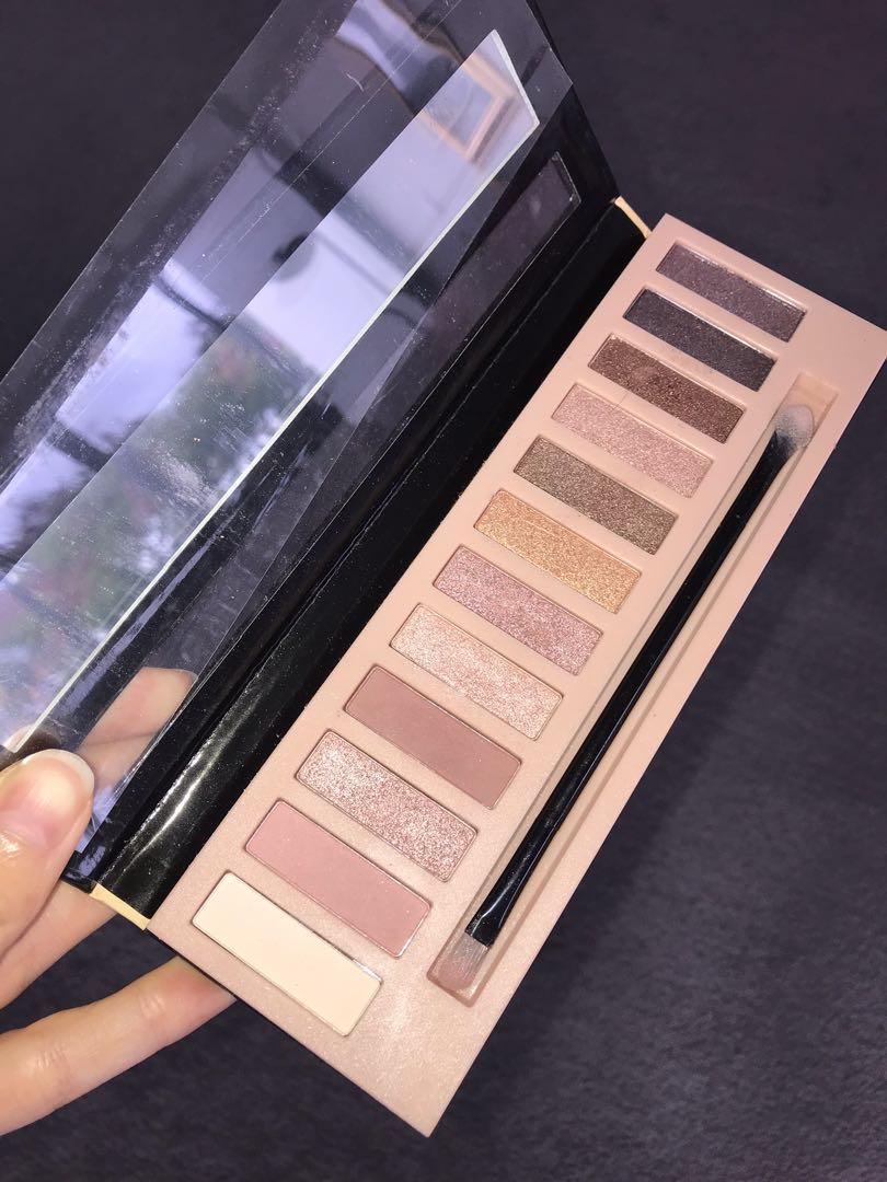 BUNDLE Barry M Primer, Crown Jewels Palette, L.A Girl Nude Palette, BECCA shimmering powder