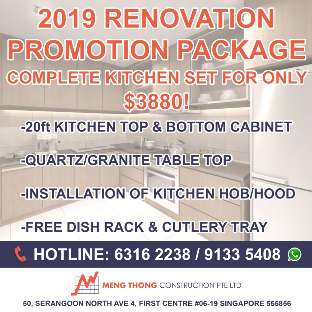 Call for free quotation kitchen cabinet other furniture renovation makeover home services renovations on carousell